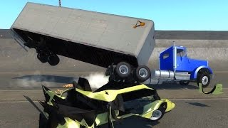 Big Rig Trailer Extra Testing - BeamNG.drive