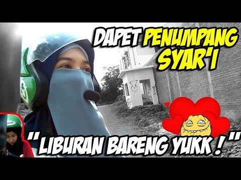 Gojek Vlog Episode 019   Dapet Penumpang Syar'i -Assalamu'alaikum Ukhti-