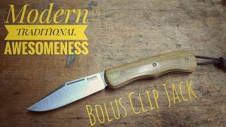 Lionsteel / CollectorKnives Bolus Clip - overwiew of a modern traditional pocket knife - WOW!