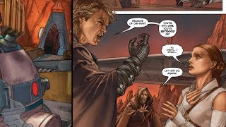 How R2-D2 Reacted to Anakin's Fall to the Dark Side and Attack on Padme [Legends]