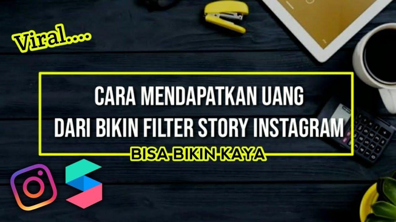 bikin filter story instagram
