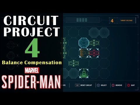 "Circuit Project 4 ""Balance Compensation"" Guide - Marvel's Spiderman"