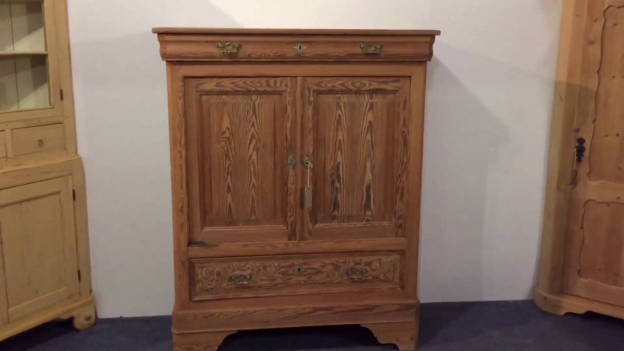 French Antique Pitch Pine Cupboard for sale - Pinefinders Old Pine  Furniture Warehouse - French Antique Pitch Pine Cupboard For Sale - Pinefinders Old Pine