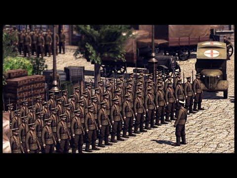 WW1 LINE DEFENSE! Great War Realism Mod