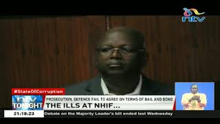 NHIF CEO and Finance Director remanded at the Industrial Area GK Prison