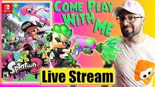 Super Smash than Splatoon 2 Live Stream - Russ Lyman