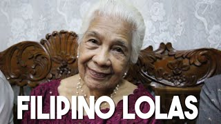 Filipino Lolas (Why Filipino Grandparents are the Best - Philippines)