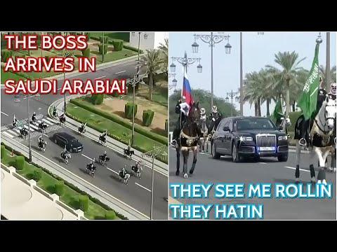 BREAKING: Putin Rolling In Saudi Arabia!