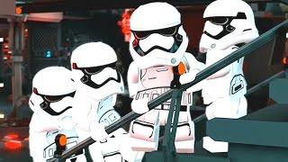 LEGO Star Wars: The Force Awakens (Vita/3DS) - Chapter 8 100% Guide - Destroy the Starkiller