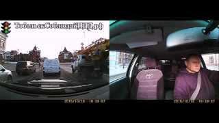 Автомобильный видеорегистратор DVR R300. Больше камер – больше фактов!