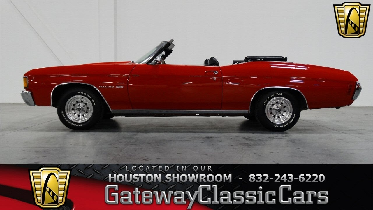 Chevrolet Chevelle Hou Gateway Classic Cars Houston