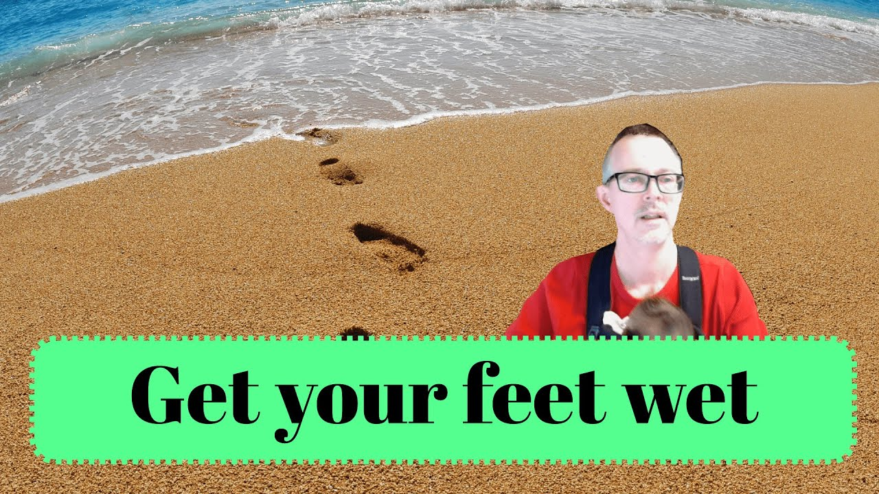 Download Learn English: Daily Easy English 1226: Get your feet wet!