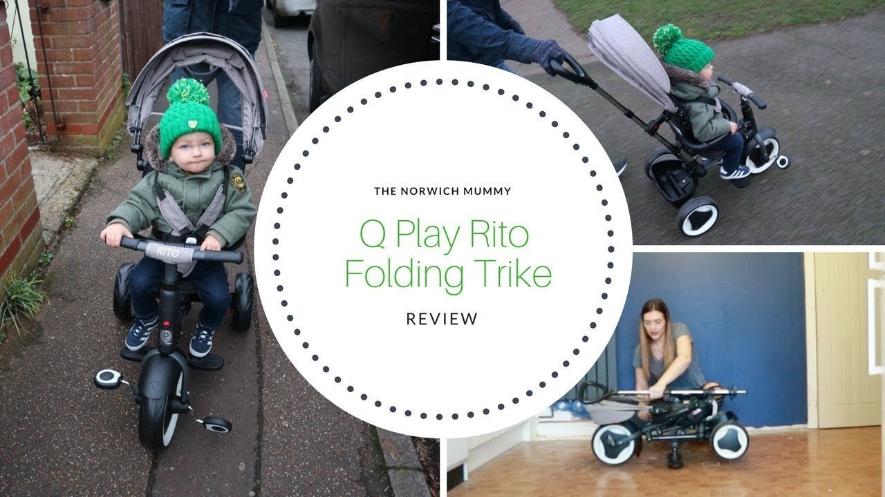 1a653160502 Q Play Rito folding trike review | Toddler trike review | The Norwich Mummy
