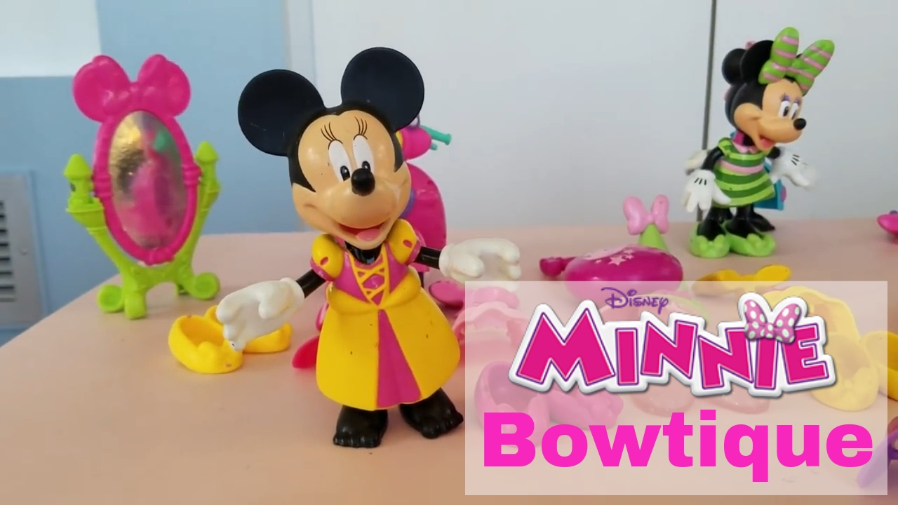 fisher price disneys minnie mouse bowtique play set