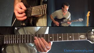 Megadeth - Hangar 18 Guitar Lesson (Part 2)