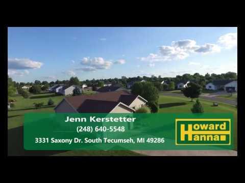 Fore Sale: 3331 Saxony Dr. South Tecumseh MI 49286