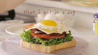 [SUB] VLOG #14 하루세끼, BELT샌드위치와 고등어조림 : What I eat in a day, Sandwich and  Braised fish   Honeykki 꿀키