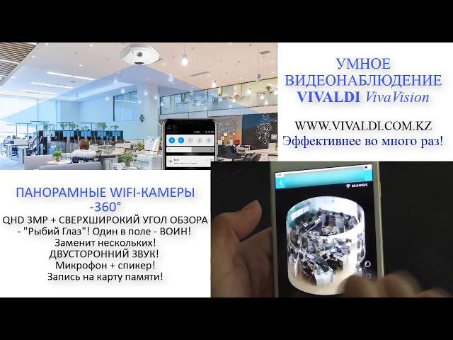 УМНОЕ ВИДЕОНАБЛЮДЕНИЕ VIVALDI VivaVision. Промовидео 1.0