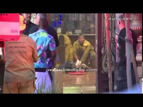 BET Awards Shooting  1 Killed 4 Hurt at Pre BET Awards Party Shooting   RAW VIDEO