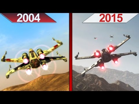 Comparison | Star Wars Battlefront | 2004 vs. 2015 | ULTRA | PC | Part 1
