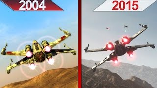 SBS Comparison | Star Wars Battlefront | 2004 vs. 2015 | ULTRA | PC | Part 1