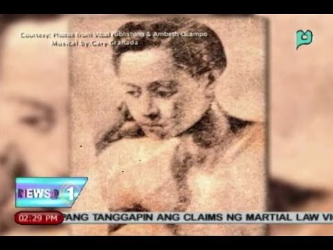 Xiao Time: Si Dr. Jose Rizal na isa ring 'Visual Artist' || June 20, 2014