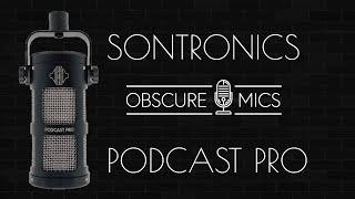 Sontronics - Podcast Pro - Dynamic Microphone Test / Demo
