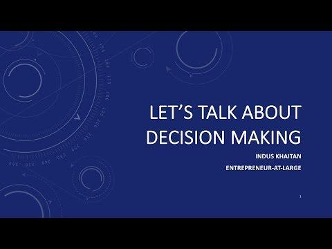 Smart Decision Making