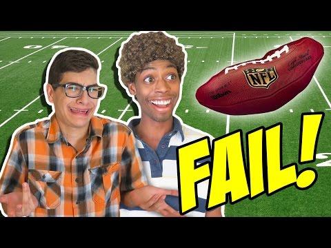THANKSGIVING FOOTBALL FAIL! (BTS)
