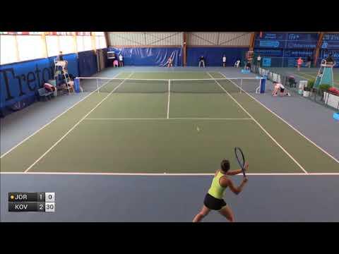 Jorovic Ivana v Kovinic Danka - 2017 ITF Poitiers