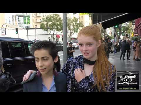 Aidan Gallagher and Abby Donnelly talk about how you have to be multi talented to be of Nick & Disne