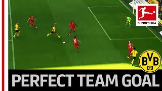Cheeky Alcacer Trick Leads to Perfect BVB Team Goal