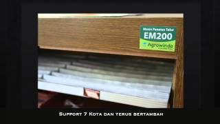 Mesin Penetas Telur Kapasitas 200 Butir EM200