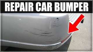How to Repair a Scuffed or Damaged Car Bumper for less than 0