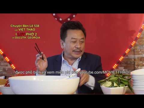 """MC VIET THAO- CBL(538)- """" TÔ PHỞ HÀNG KHÔNG MẪU HẠM của I Luv Phở ở DULUTH, GEORGIA."""