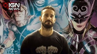 CM Punk to Write a DC Comic Book - IGN News