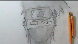 """Paso a Paso"" Cómo dibujar a Kakashi ""Naruto"" | How to Draw Kakashi by ZaXx"