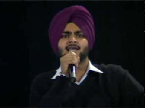 gurdeep singh saini performing at genesis 09...... (((((din college de thore......)))))