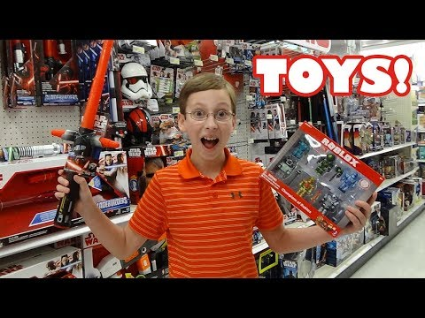 Toy Hunt Shopping For Roblox Mini Figures And Gift Car