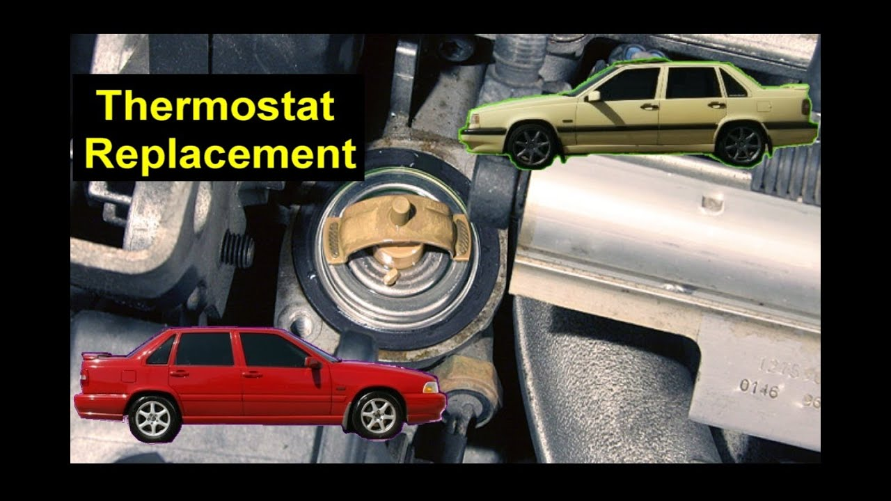 how to replace the thermostat in the volvo 850 s70 v70 v70 xc rh youtube com