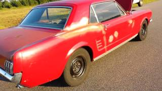 "1966 Mustang ""sleeper"" Burnout"