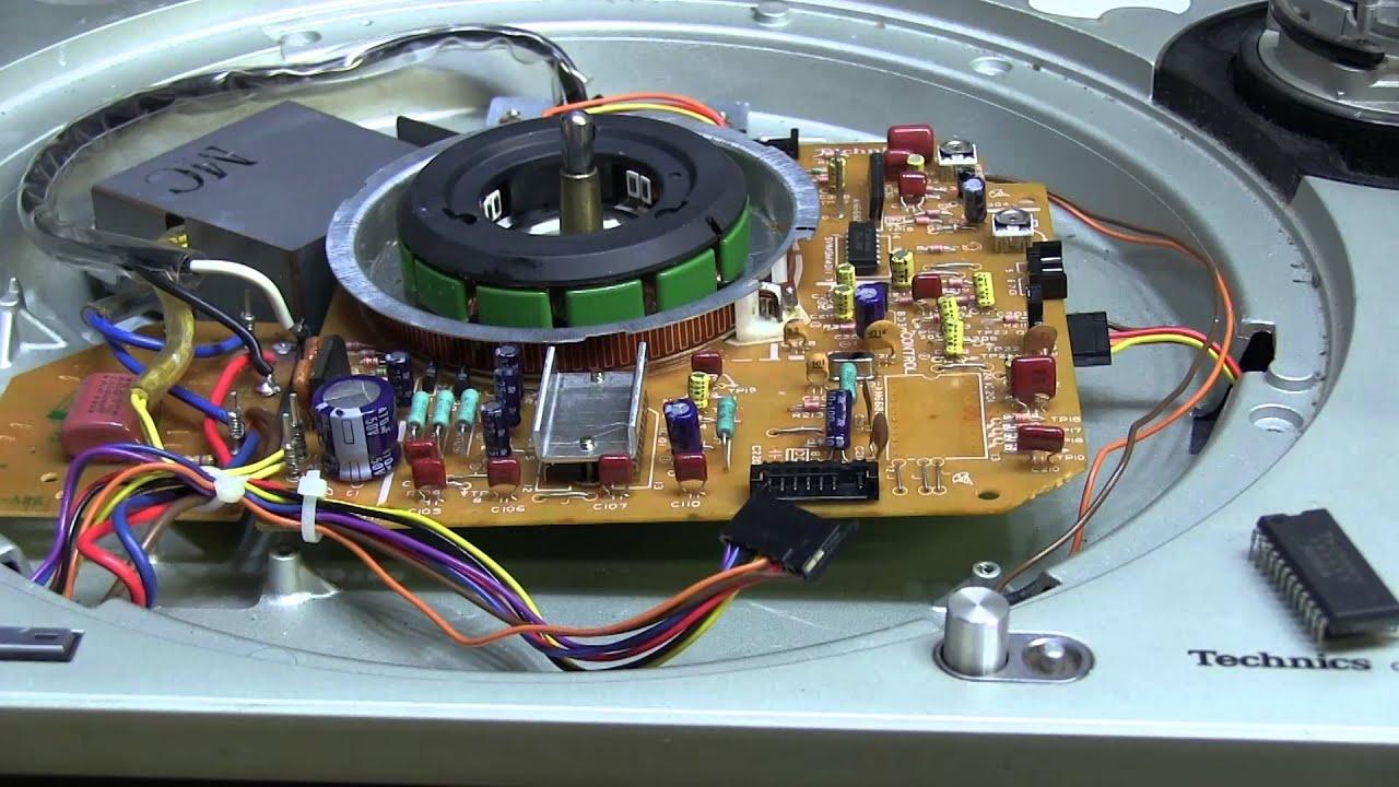 twb 11 technics sl 1200m3d turntable repair part 1 of 3 youtube rh youtube com technics 1200 repair manual Numark Mixer