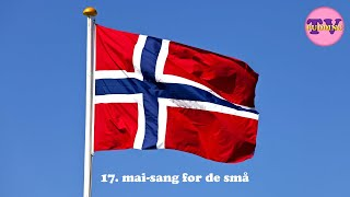 17. mai-sang for de små | Norske barnesanger