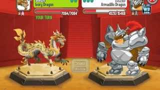 Dragon City: Ivory 'Dragon Ball Z' Dragon Battle & Skills