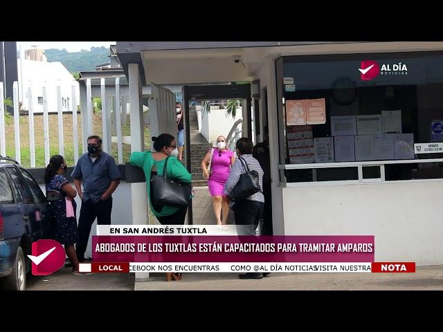 COLEGIO DE ABOGADOS DE LOS TUXTLAS, CAPACITADO PARA AMPARAR A MENORES DE EDAD