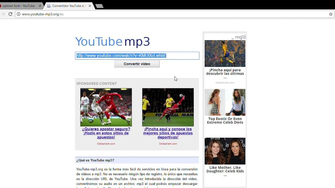 como descargar musica de youtube a la pc