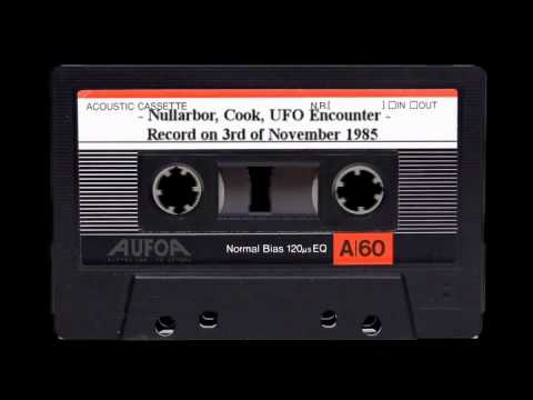 Nullarbor, Cook, UFO Encounter - 3rd,Nov,1985