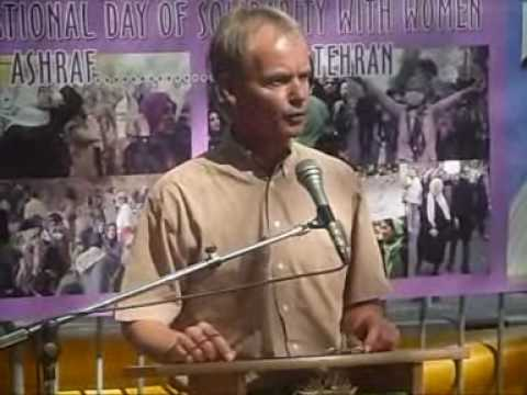 Harry van Bommel (Dutch MP) in support of Camp Ashraf and PMOI