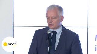 Jarosław Gowin: sędziowie SN zrobili coś bez precedensu | OnetNews