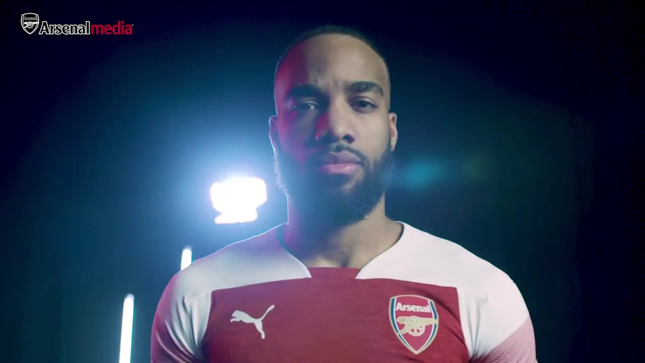 f9b5bb913 The story behind Arsenal's 2018/19 PUMA home kit - YouTube